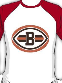 Cleveland Browns logo 2 T-Shirt