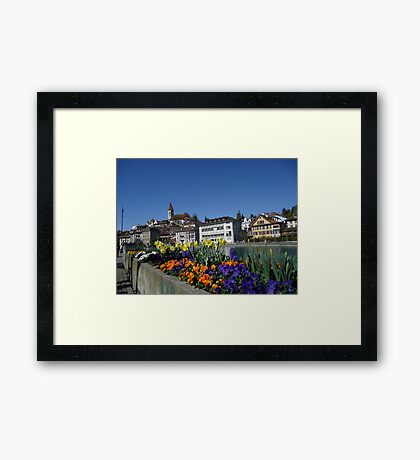 thun city Framed Print