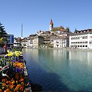 Thun city view by fladelita