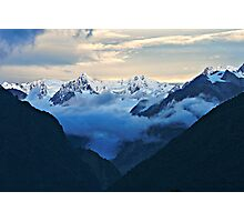 fox glacier  south westland  nz Photographic Print