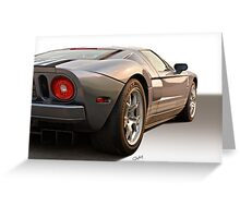 2006 Ford GT VS6 Greeting Card
