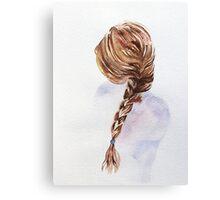 Pretty Blond Woman  Canvas Print