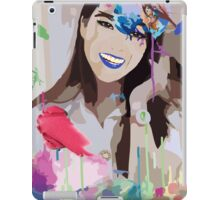 A Birdish Girl iPad Case/Skin