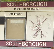 Southborough Sign by Eric Sanford