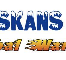 alaskans for global warming Sticker