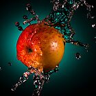 Apple splash by Johan Larson