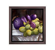 Magnum Grapes Photographic Print