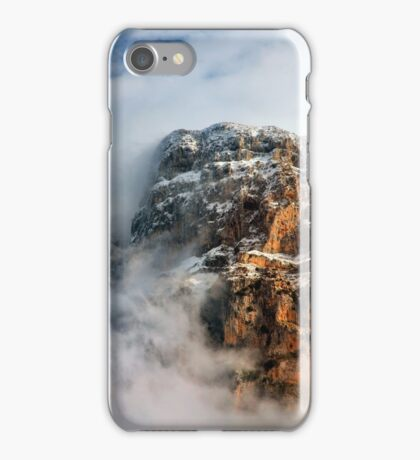 """Clouds surrounding the """"Towers"""" of Astraka iPhone Case/Skin"""