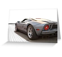 2006 Ford GT VS9 Greeting Card