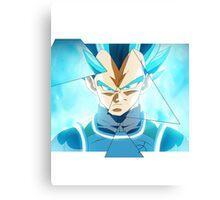Dragon Ball Z - Vegeta Super Saiyajin God Super Saiyajin  Canvas Print