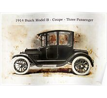 1914 Buick Coupe Poster