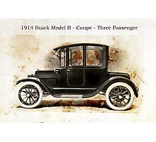 1914 Buick Coupe Photographic Print
