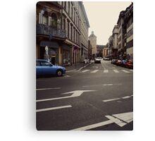 Street in Strasbourg Canvas Print
