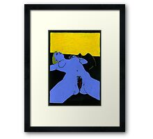 Blue Venus Framed Print