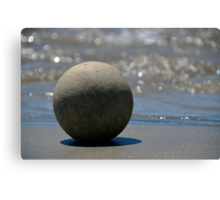 The Zen Stone Canvas Print
