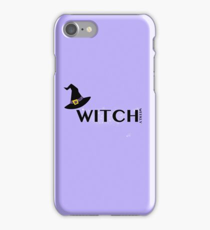Witch Weekly iPhone Case/Skin