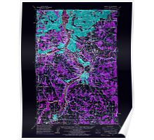 USGS Topo Map Oregon Oregon City 282778 1961 62500 Inverted Poster