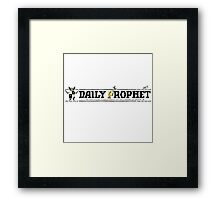 The Daily Prophet Framed Print