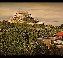 The Old Fort .  Corfu Town by fruitcake