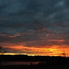 Sunset at the TCAAP Wildlife Viewing Area by Mully410