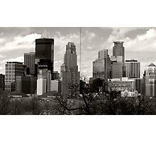 Window to Minneapolis Photographic Print