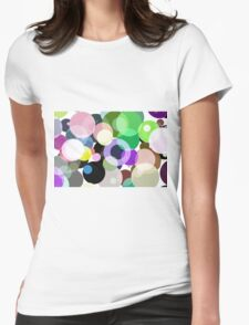 Full of Circles Womens Fitted T-Shirt