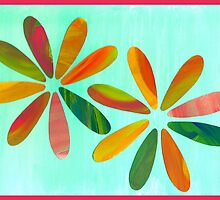 Painted Petals by Danielle Cardenas