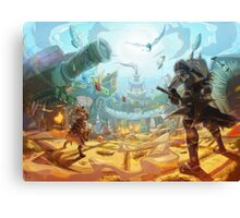 Monster Hunter 4 Unlimited Canvas Print
