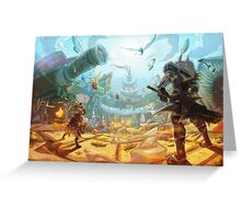 Monster Hunter 4 Unlimited Greeting Card