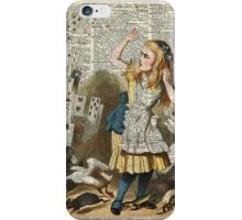 Alice In The Wonderland  iPhone Case/Skin