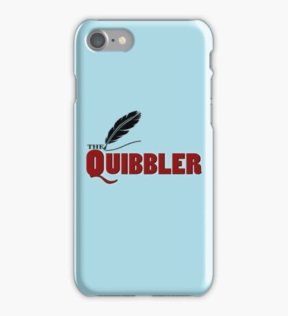 The Quibbler iPhone Case/Skin
