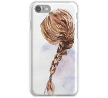 Pretty Blond Woman  iPhone Case/Skin