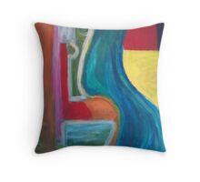 out past the outback Throw Pillow