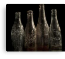 It was Best in the Bottle Canvas Print