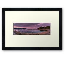Malabar Baths Panorama Framed Print