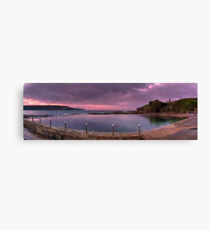 Malabar Baths Panorama Canvas Print