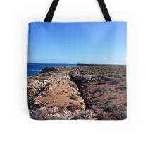 Bunda Cliffs Gap Nullarbor Tote Bag