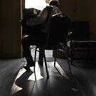 Accordion player by Kateryna Naumova