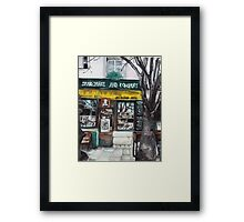 Postcards from Paris - Shakespeare and Company Framed Print