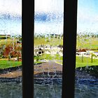 View from Inside Bee-Hive Waterfall by Marilyn Harris