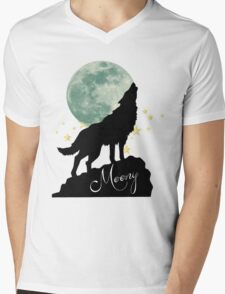 Moony Mens V-Neck T-Shirt