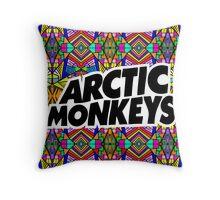 Arctic Monkeys - Trippy Pattern Throw Pillow