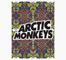 Arctic Monkeys - Trippy Pattern Kids Tee