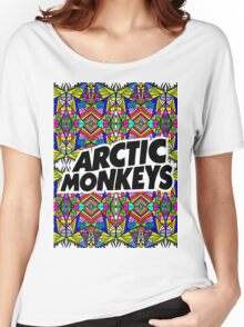 Arctic Monkeys - Trippy Pattern Women's Relaxed Fit T-Shirt