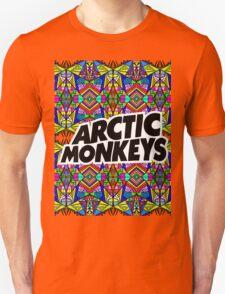 Arctic Monkeys - Trippy Pattern Unisex T-Shirt