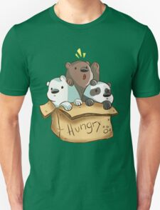 We Bare Bears - Hungry! T-Shirt