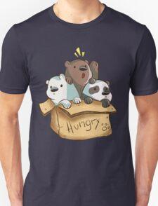 We Bare Bears - Hungry! T-Shirt