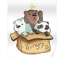 We Bare Bears - Hungry! Poster
