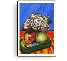 STILL LIFE . ACRYLIC Canvas Print