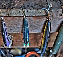 Old Fishing Lures by Scott Schrapel
